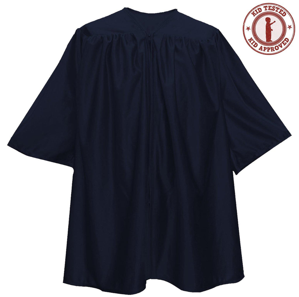 Child Navy Blue Graduation Gown - Preschool & Kindergarten Gowns
