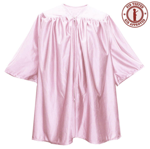 Child Pink Graduation Gown - Preschool & Kindergarten Gowns