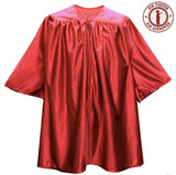Child Red Graduation Gown - Preschool & Kindergarten Gowns