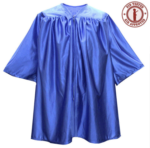 Child Royal Blue Graduation Gown - Preschool & Kindergarten Gowns