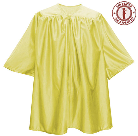 Child Gold Graduation Gown - Preschool & Kindergarten Gowns - Graduation Attire