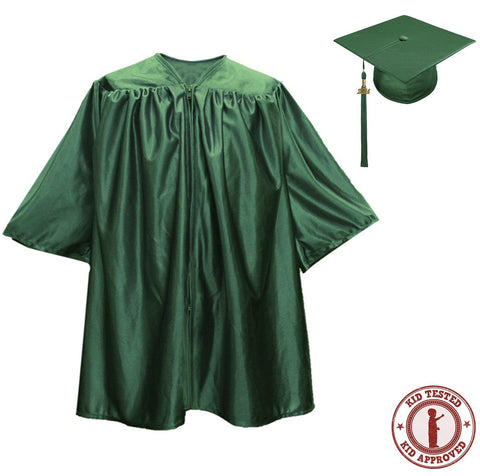 Child Hunter Graduation Cap & Gown - Preschool & Kindergarten