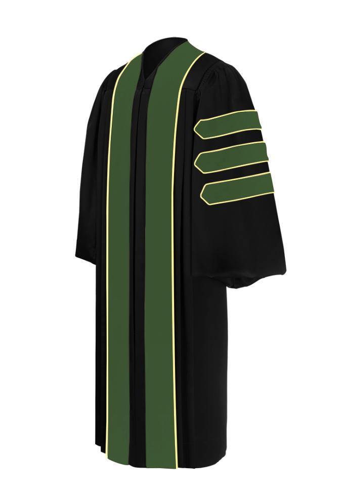 Doctor of Pharmacy Doctoral Gown - Academic Regalia - Graduation Cap and Gown