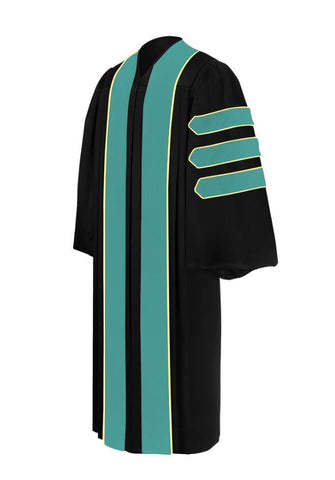 Doctor of Public Administration Doctoral Gown - Academic Regalia - Graduation Cap and Gown