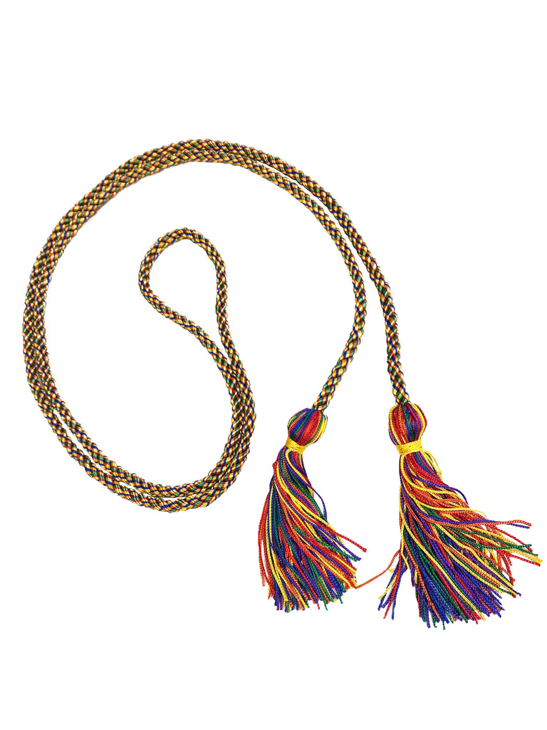 Rainbow Graduation Honor Cord - College & High School Honor Cords
