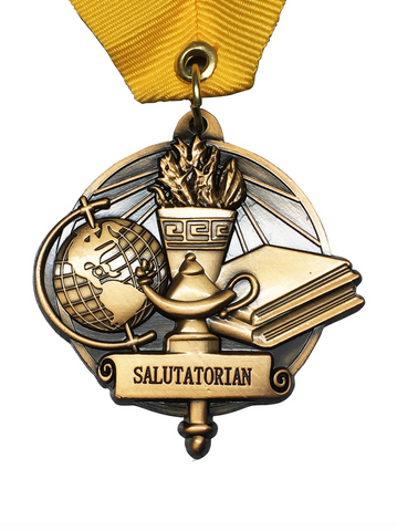 Salutatorian Graduation Medal
