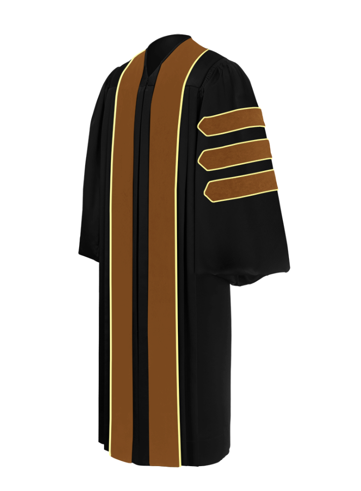 Doctor of Economics Doctoral Gown - Academic Regalia - Graduation Cap and Gown
