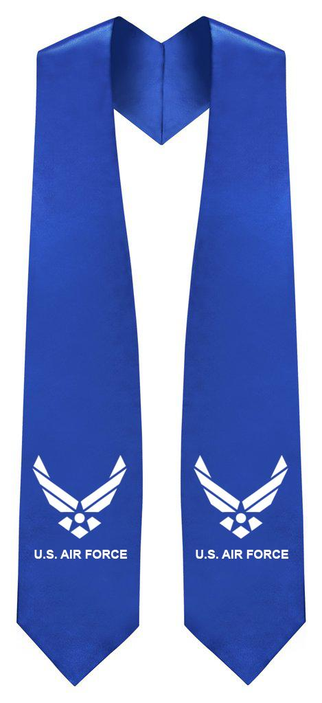 U.S. Air Force Stole - Veteran & Military Graduation Stoles