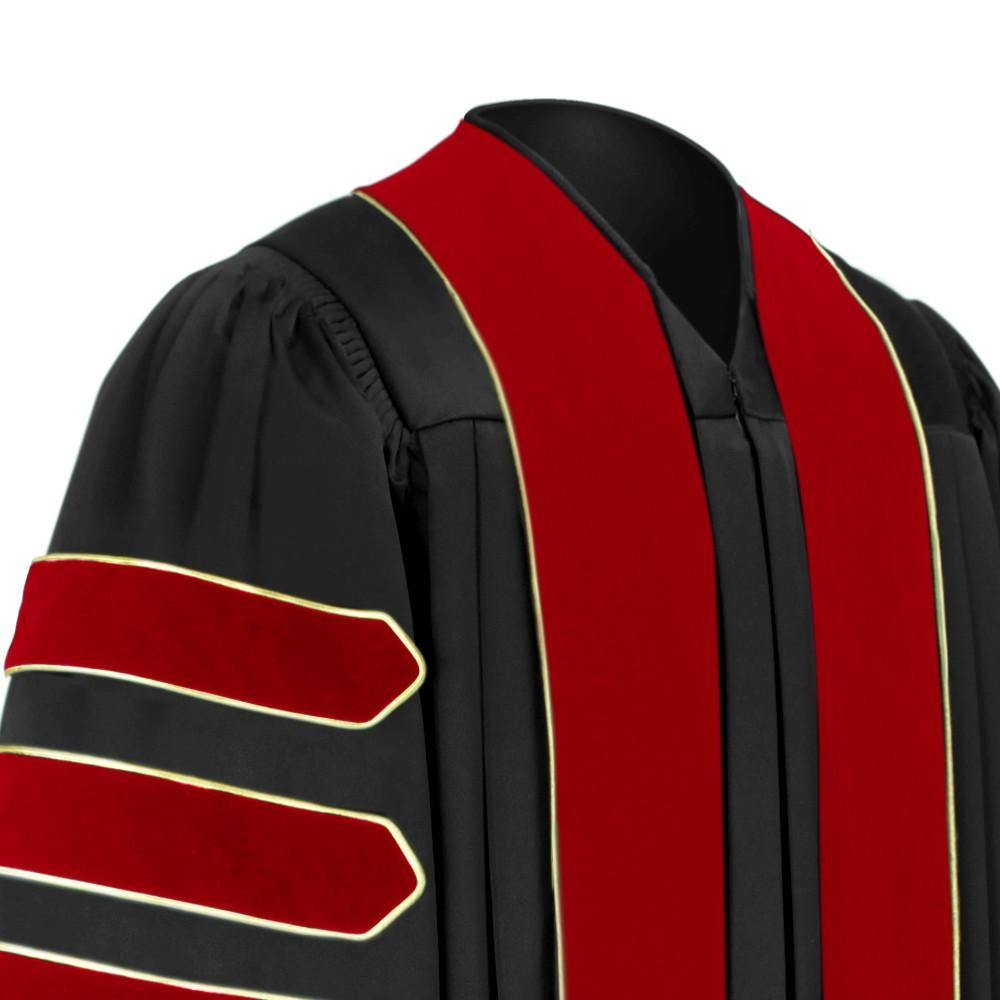 Doctor of Theology Doctoral Gown - Academic Regalia - Graduation Cap and Gown