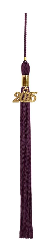Maroon Graduation Tassel - College & High School Tassels - Graduation Cap and Gown