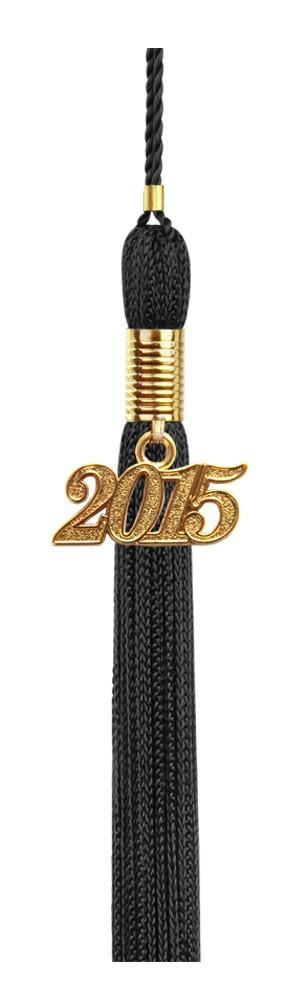 Black Graduation Tassel - College & High School Tassels - Graduation Cap and Gown