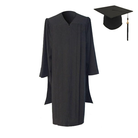 Classic Masters Graduation Cap and Gown - Academic Regalia - Graduation Attire