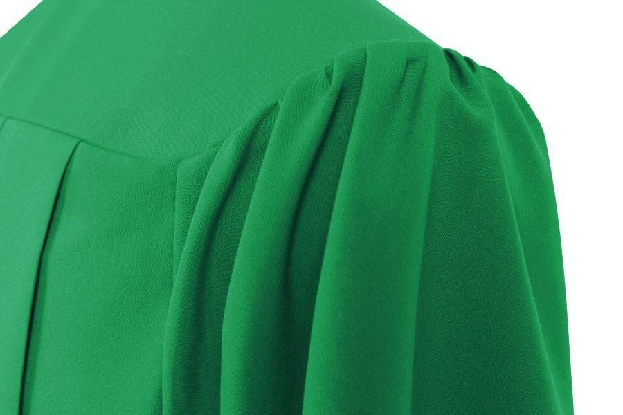 Eco-Friendly Emerald Green Bachelors Cap & Gown - College & University - Graduation Cap and Gown