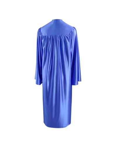 Shiny Royal Blue Bachelors Graduation Gown - College & University - Graduation Cap and Gown