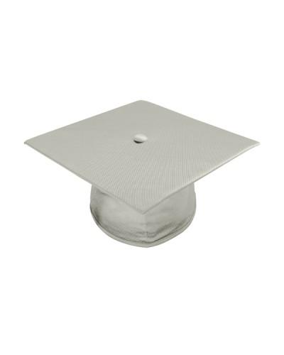 Shiny Silver Bachelors Cap & Gown - College & University - Graduation Cap and Gown