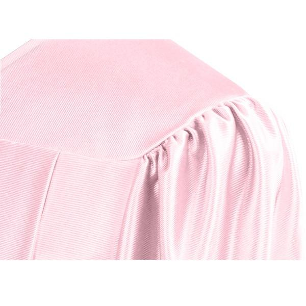 Shiny Pink High School Graduation Cap & Gown - Graduation Cap and Gown