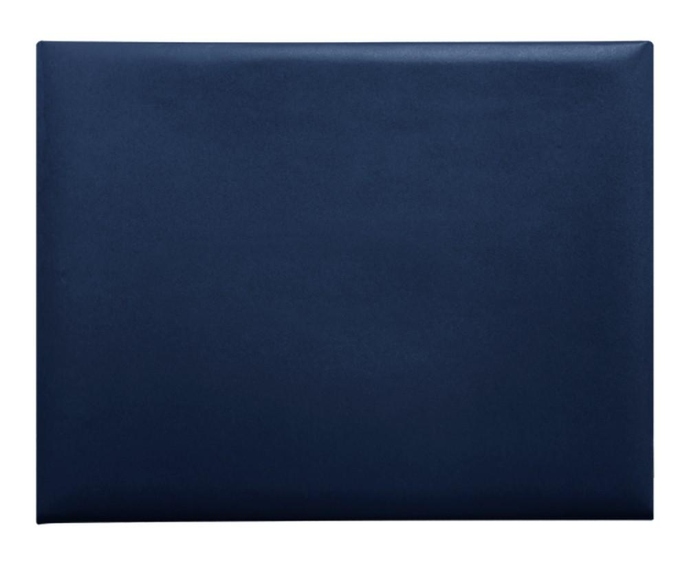 Navy Blue Diploma Cover - College & High School Diploma Covers - Graduation Cap and Gown