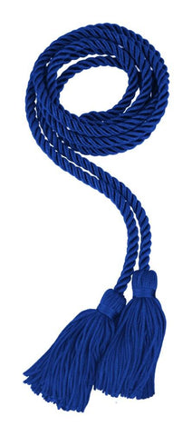Royal Blue Graduation Honor Cord - High School Honor Cords - Graduation Cap and Gown