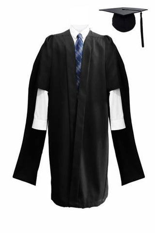Deluxe Masters Graduation Cap & Gown - Graduation UK