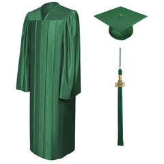 Shiny Hunter High School Graduation Cap and Gown - Graduation Cap and Gown