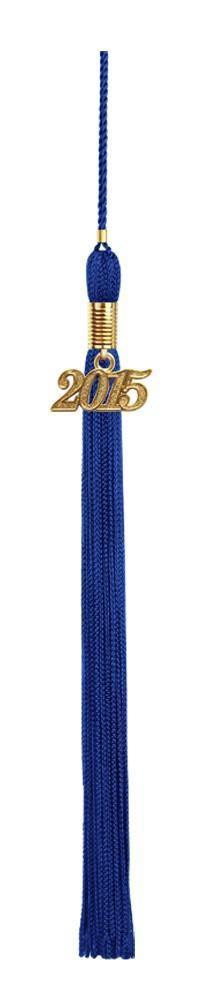 Child Royal Blue Cap & Tassel - Preschool Graduation - Graduation Cap and Gown