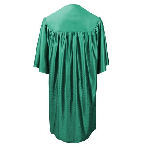 Child Emerald Green Graduation Gown - Preschool & Kindergarten Gowns - Graduation Cap and Gown