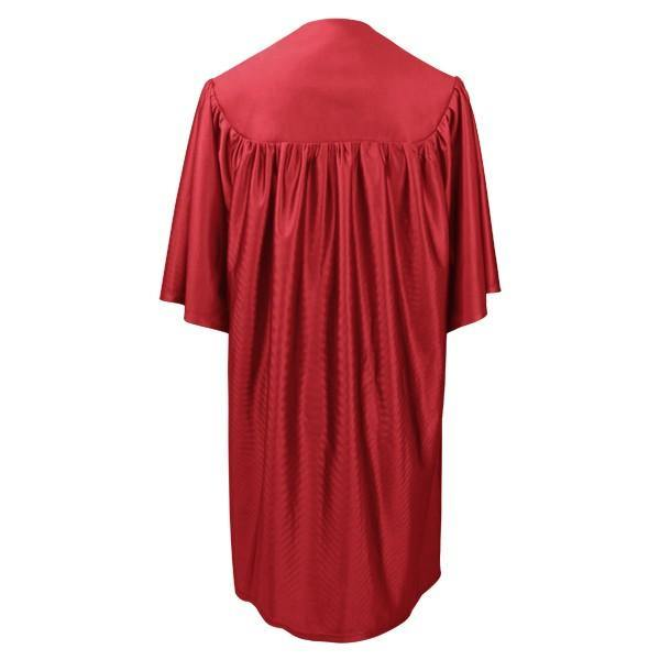 Child Red Graduation Cap & Gown - Preschool & Kindergarten - Graduation Cap and Gown