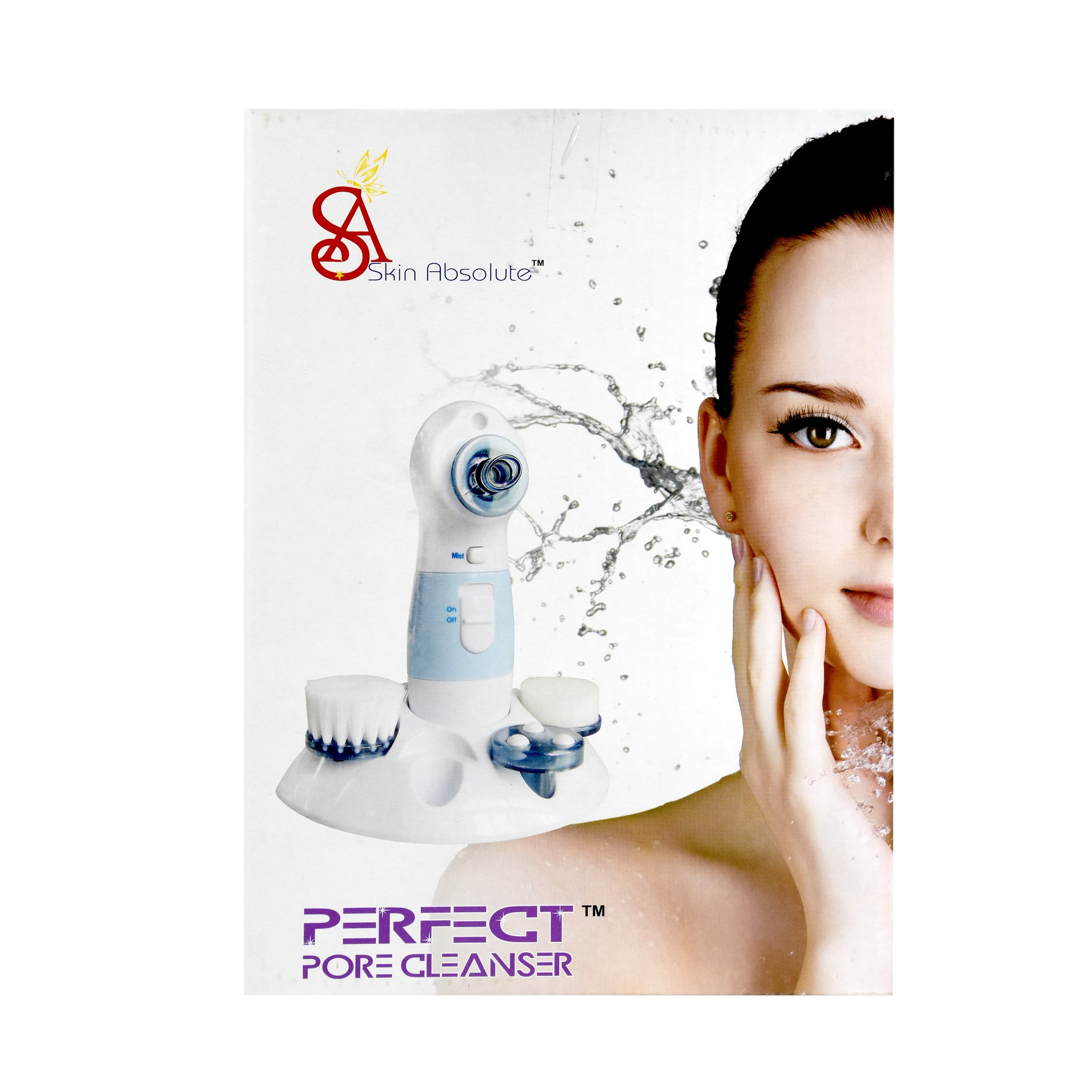 Skin Absolute Electric Vacuum Pore Cleanser & Blackhead Remover  - Perfect Pore Cleanser - Worldshopon.com