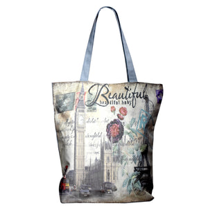 IDEAL HOME CANVAS TOTE BAG - Worldshopon.com