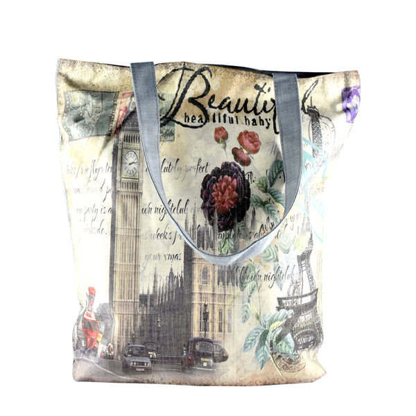 CANVAS TOTE BAG - worldshopon-com