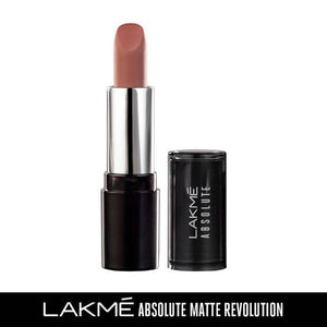 Lakme Absolute Matte Revolution Lip Color, 301 Morning Coffee, (3.5 g)