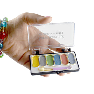 Color Absolute 6 in 1 Eye Shadow Pallet - Worldshopon.com