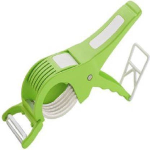 Mymark 2 in 1 Vegetable Cutter Vegetable Grater & Slicer  (1 vegetable cutter)