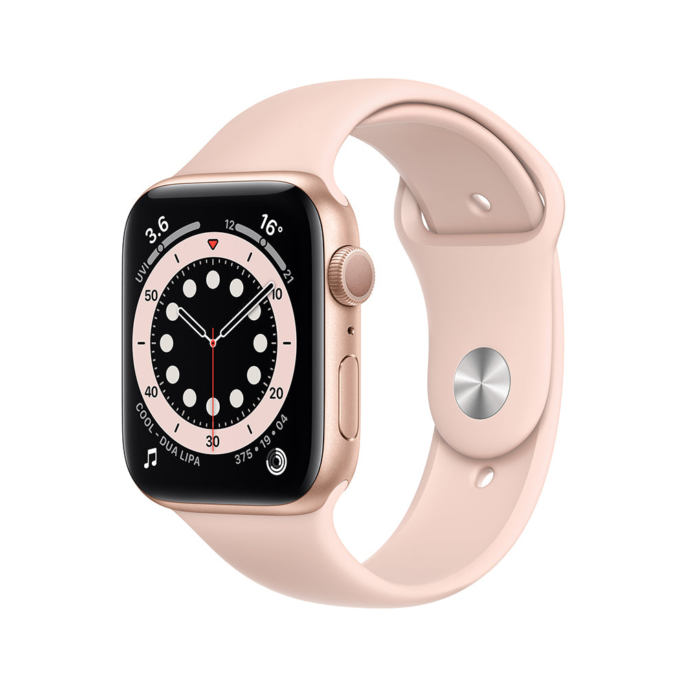 SERIES 6 Rose Gold Metal Case Smart Watch With Bluetooth Calling