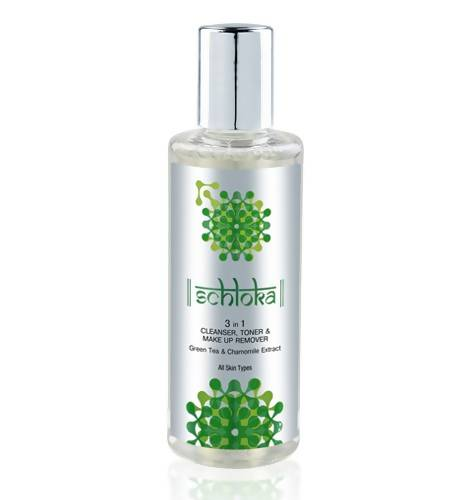Schloka 3 in 1 Cleanser, Toner and Make Up Remover With Green Tea & Chamomile Extra 200ml) - Worldshopon.com