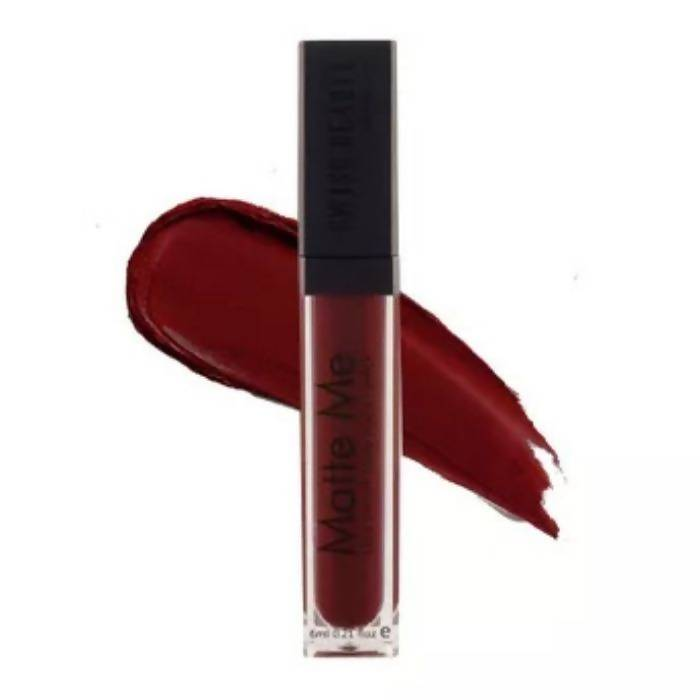Swiss Beauty Matte Lip Ultra Smooth Matte Liquid Lipstick-19 Deep Maroon (6 ml) - Worldshopon.com