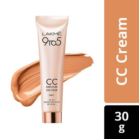 Lakme 9 to 5 Complexion Care CC Cream Honey (30 g)