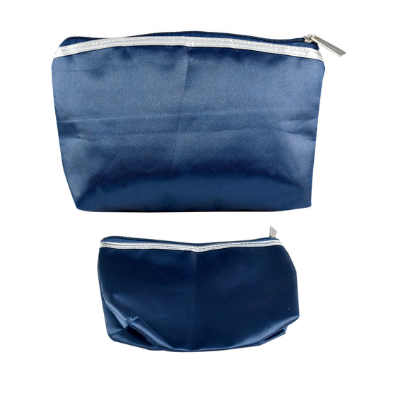 Set of 2 Adorner Designer Cosmetic Pouches - Worldshopon.com