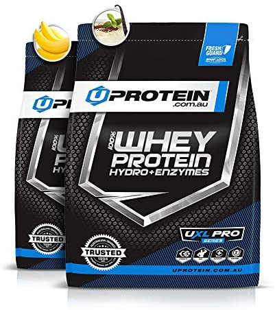 Uprotein 100% Whey Protein Hydro + Enzymes 4kg (100 Serves), Vanilla Custard | Build Muscle, Low Carb, Whey Protein Powder for Men & Women: Amazon.com.au: Health & Personal Care