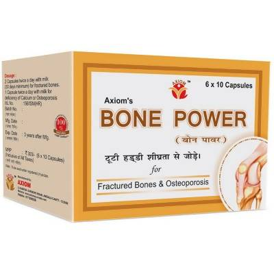 Axiom Bone Power (60caps) - Worldshopon.com