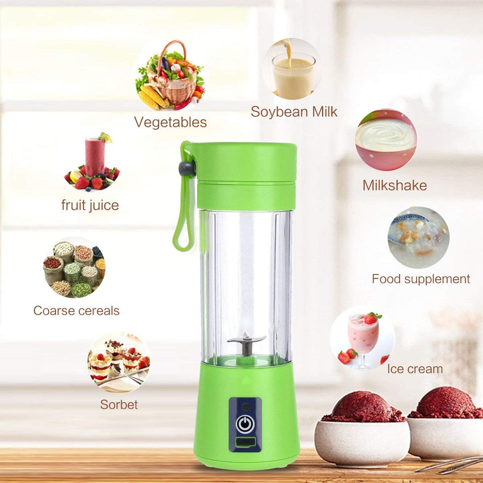 Portable Electric USB Juicer Bottle Blender Drink Bottle Cup