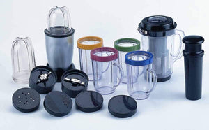 Ideal Home 21 Pieces Magic Bullet - Multipurpose High Speed Juicer, Mixer, Grinder & Smoothie Maker - Worldshopon.com