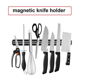 Ideal Home Magnetic Knife Bar, Magnetic Knife Storage Strip, Magnet Kitchen Knife Holder, Knife Rack Strip Patti 13 Inch - Worldshopon.com