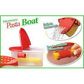 Ideal Home PASTA BOAT - microwave pasta cooker cum vegetable steamer - Worldshopon.com