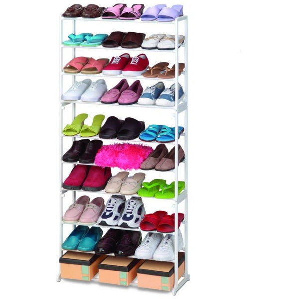 Ideal Home THE AMAZING SHOE RACK - Black - Worldshopon.com