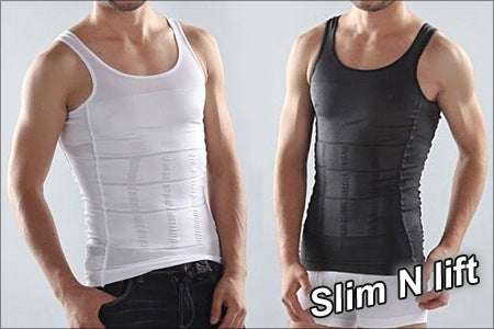 Men's Tummy Tucker Vest - worldshopon-com