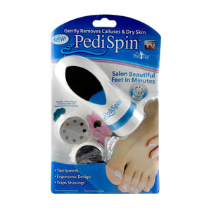Ideal Home Dual-Speed Pedi Spin Callus Remover - Worldshopon.com