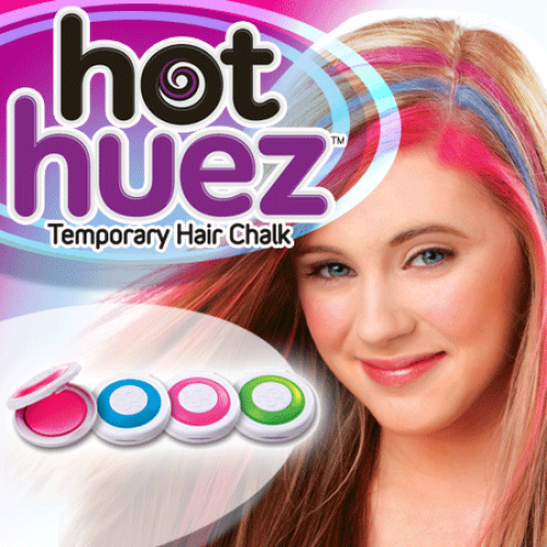 HOT HUEZ TEMPORARY HAIR CHALK - worldshopon-com