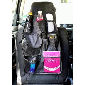CAR SEAT ORGANIZER - BLACK - Worldshopon.com