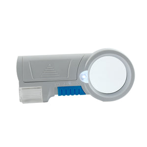 Generic Multifunction 8X Magnifier Compact Led Light Reading Aid Magnifying Glass Flashlight Quality ABS Body Acrylic Optical Lens Loupe - Worldshopon.com